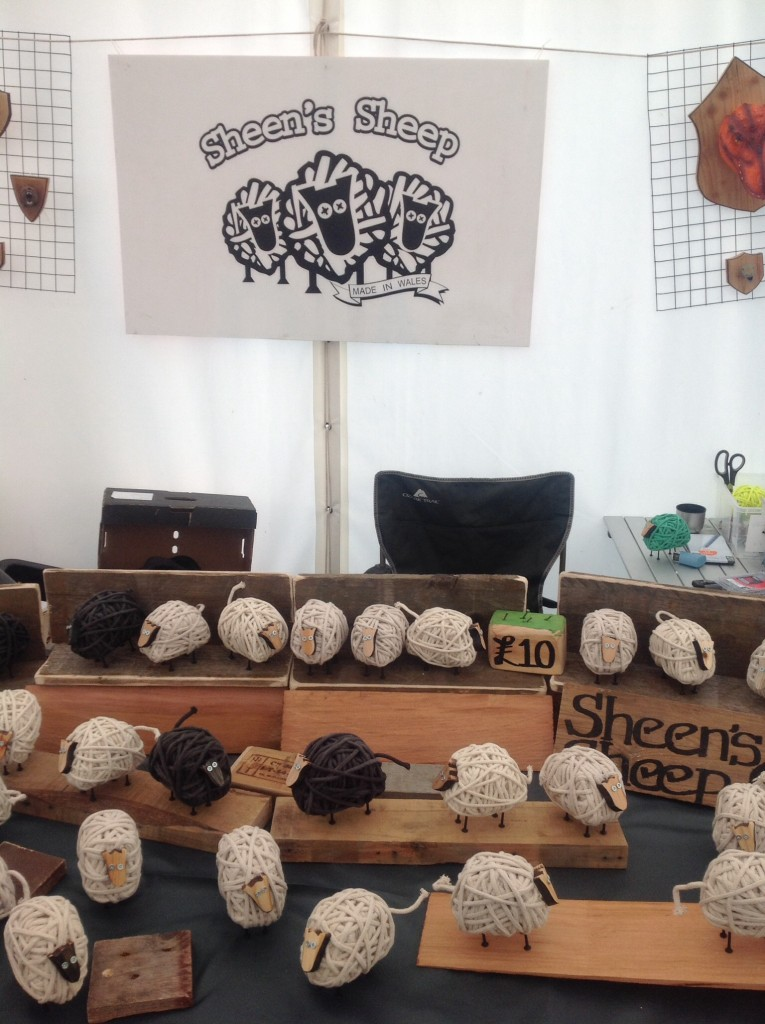 My stall at this years Llandovery Sheep Festival